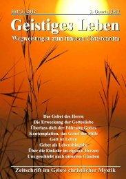GL 3/2012 - der Lorber-Gesellschaft eV