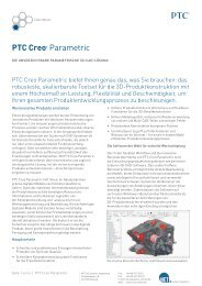 PTC Creo® Parametric - NET AG engineering team