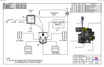 Lift Axle Air Control Valve Diagram Fork Lift Control