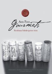 Katalog 2011 - AUX FINS GOURMETS