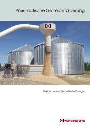 Deutsch - Pneumatische Getreideförderung - Kongskilde