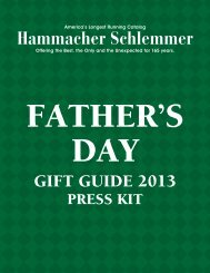 Father's Day Gift Guide 2013 - Press Kit - Hammacher Schlemmer