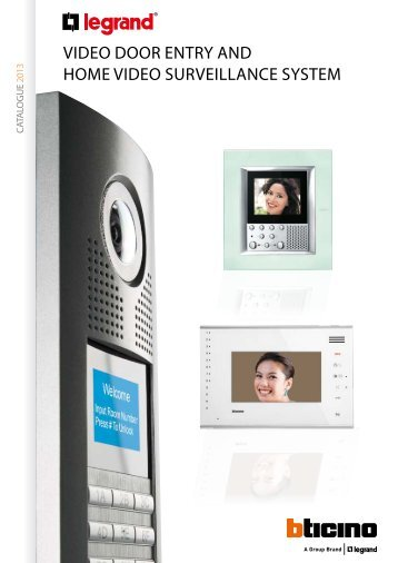 vidEO dOOr EnTry And hOmE vidEO sUrvEiLLAnCE ... - Legrand