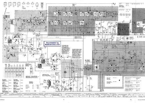 Grundig C6000 circuit diagram