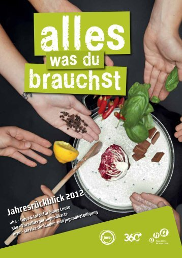 Jahresrückblick 2012 - Aha