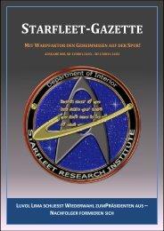 Starfleet-Gazette, Ausgabe 008 - Starfleet Online Blog