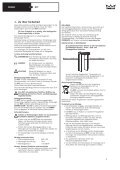 Installation instructions and instructions for use Montage- und ... - Seite 3
