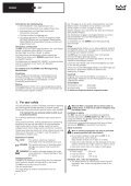 Installation instructions and instructions for use Montage- und ... - Seite 4