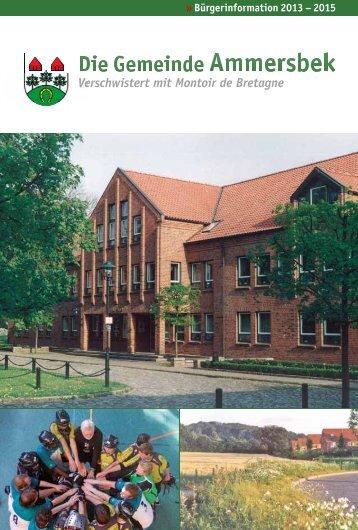 Onlinefassung - Gemeinde Ammersbek