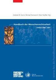 FES T Handbuch MR - Forum Menschenrechte