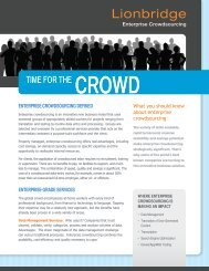 Download our Enterprise Crowdsourcing ... - The Smart Crowd
