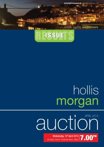 Hollis Morgan Auction Results 10th April 2013