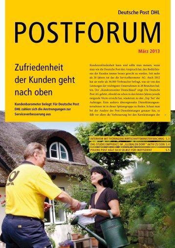März 2013 - Deutsche Post DHL
