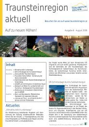 Traunsteinregion aktuell