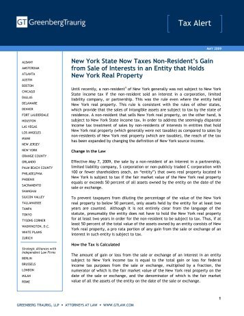 How are New York State nonresidents and part-year ...