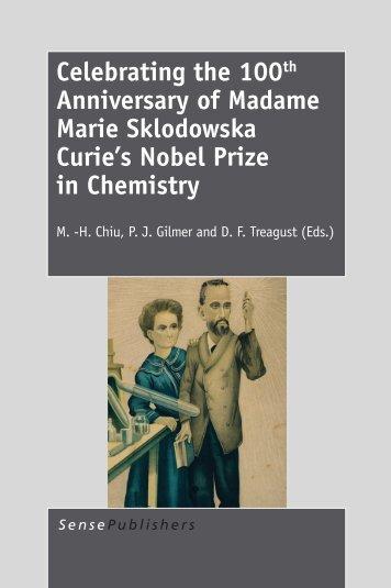Celebrating the 100th Anniversary of Madame ... - Sense Publishers