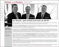 PDF öffnen - Helmer und Partner