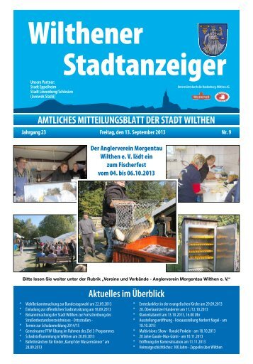 September 2013 - Stadt Wilthen