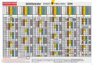 Abfallkalender 2014.pdf - Stadtbetrieb Frechen