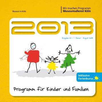 Programm für Kinder und Familien - Mwk-koeln.de