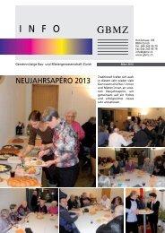 GBMZ-Info 1/2013