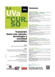 Dossier para alumnos (1,4 Mb) - Universidad de Valladolid