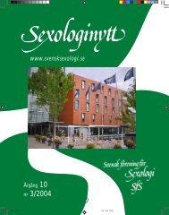 nr 3/2004 - Sexologinytt