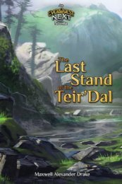 The Last Stand of the Teir'Dal - An EverQuest Next Novella