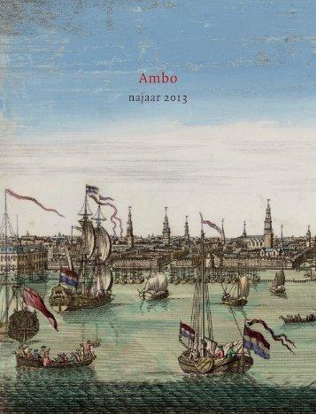 najaar 2013 - Ambo Anthos