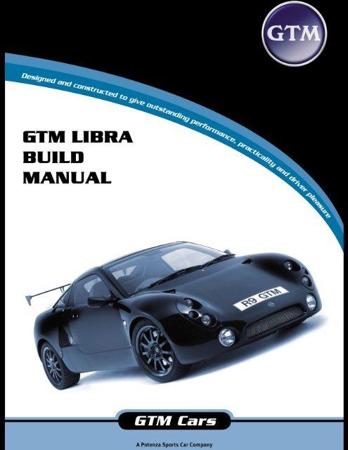 GTM Libra - Main build manual