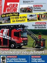 Feuerwehr Magazin 09 2013 - Hofvermarktung - Partyservice ...