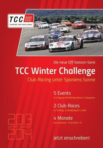 Info-Flyer - TCC Winter Challenge
