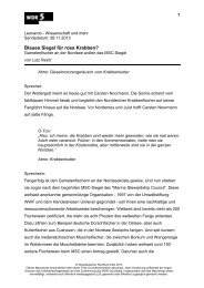 Wie nachhaltig ist die MSC-Zertifizierung? (PDF-Download ... - WDR 5