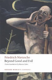 Friedrich Nietzsche Beyond Good and Evil - ZineLibrary.info