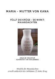 2. Maria – Mutter von Kana - Kahlenberg