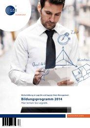 Bildungsprogramm 2014 - GS1