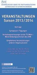 Veranstaltungsprogramm herunterladen - Österreichischer Verein ...