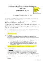 Verordnung über ärztliche Fortbildung (ÄFV 2010)