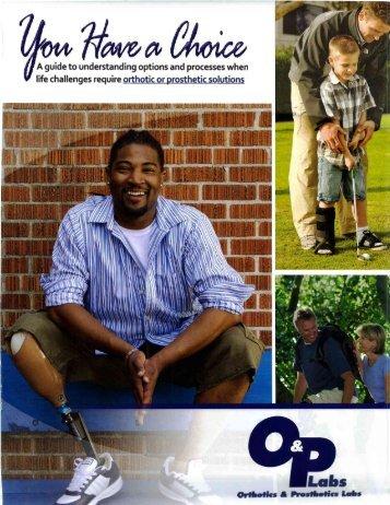 here - Orthotics & Prosthetics Labs