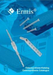 Osteosynthese-Katalog Osteosynthesis Catalogue - M. Ermis