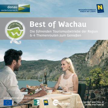 Best of Wachau - Donau Niederösterreich Tourismus GmbH