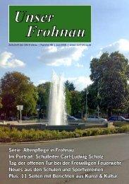 Unser Frohnau - CDU Frohnau