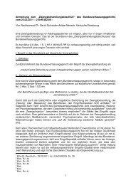 des Bundesverfassungsgerichts vom 23.03.2011