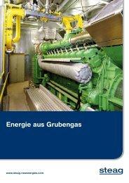 Energie aus Grubengas - STEAG