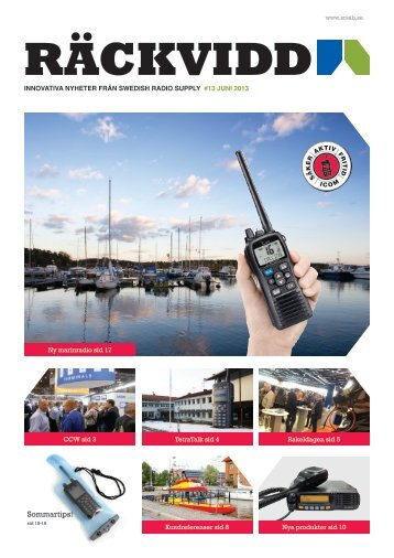 Sommartips! - Swedish Radio Supply AB