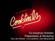 Co-kreatives Arbeiten Präsentation & Workshop - Creative Region