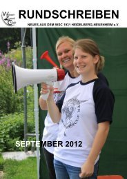 Rundschreiben - 09/2012 - WSC Heidelberg