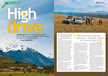 Caravans, Motorhomes & Destinations - April 2013 - NZ Adventures