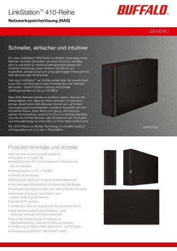 LinkStation™ 410-Reihe - Buffalo