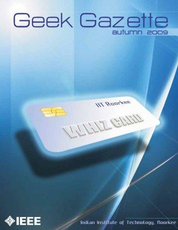 Autumn 2009 - Geek Gazette